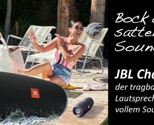Tragbarer Bluetooth-Lautsprecher JBL Charge 4