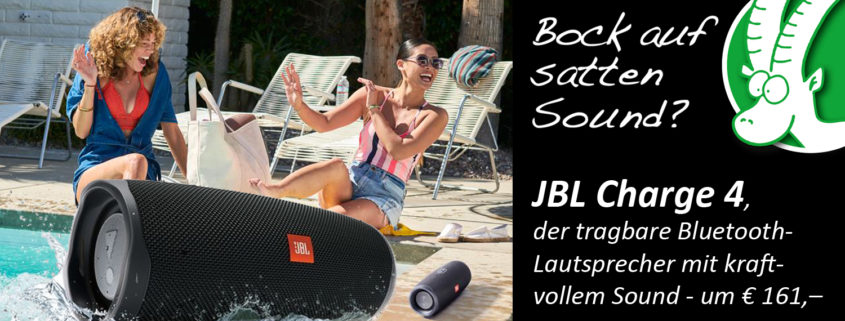 Tragbarer Bluetooth-Lautsprecher JBL Charge 4